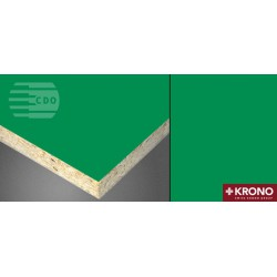 Płyta laminowana 2800x2070mm U 155 PE - Zielony