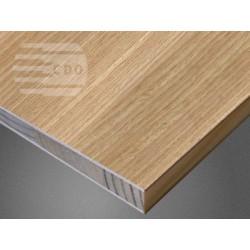 Płyta stolarska 2440x1220mm w okleinie DĄB CLASSIC PROSTOSŁOISTY DACP-X07 CDO