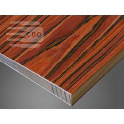Płyta stolarska 2440x1220mm w okleinie PALISANDER RIO  PR-Y02 CDO